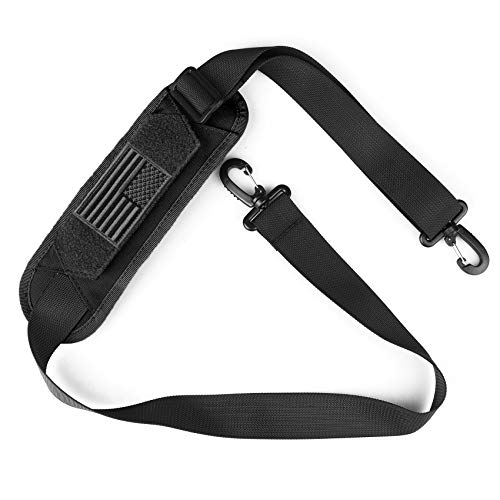 AMYIPO Luggage Duffel Bag Shoulder Pad 52' Universal Replacement Laptop Adjustable Shoulder Strap for Duffel Bag Strap Computer Bags Laptop Case Crossbody Bag Strap Pet Carrier (Black & Strap)