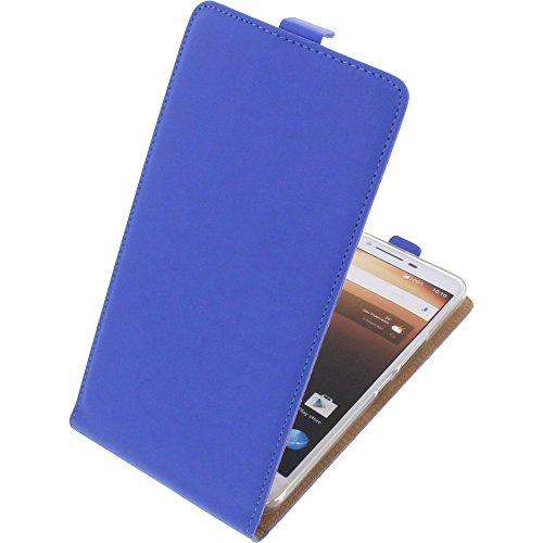foto-kontor Tasche für Alcatel A3 XL Smartphone Flipstyle Schutz Hülle blau