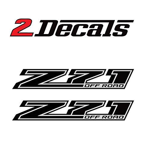 Z71 Offroad Truck Black Blackout Stickers Decals (2014-2018)