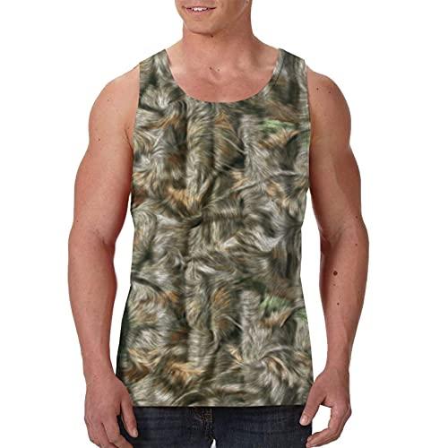 Camiseta de Entrenamiento para Correr Camisetas sin Mangas para Hombre Camisas Chaleco de Fitness sin Mangas de Culturismo