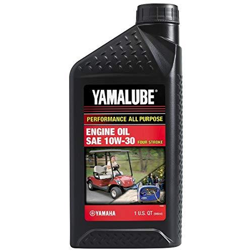 YAMAHA LUB-10W30-GG-12 Yamalube Golf Car and Generator Oil 10W-30 - Quart
