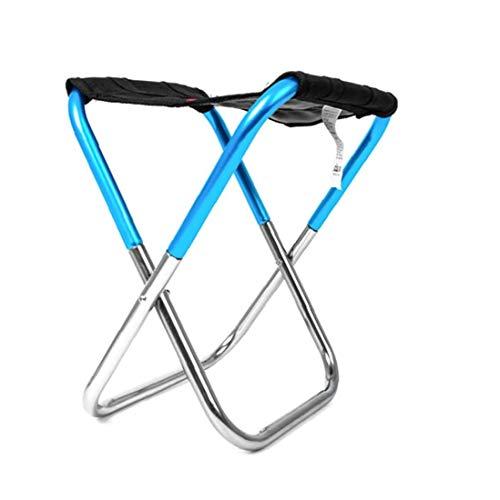 Mini Im Freien Klappstuhl Ultra Light Wandern Angeln Camping Stuhl Tragbare Sitzhocker Mit Aufbewahrungstasche Rucksack Blau Campingausrüstung