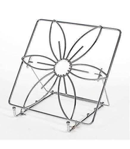 Astuceo Porte Livre de Cuisine - Design Fleur