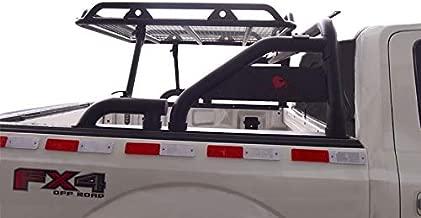 BLACK HORSE WRB-001BK Roll Bar with Cargo Basket for Trucks