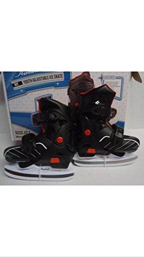 Aerowheels Youth Adjustable Ice Skates Sizes J1-2