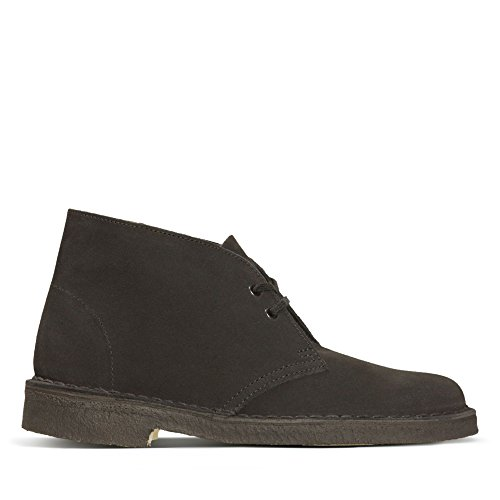 Clarks Originals Damen Desert Boot-261071624 Derby, Schwarz (Black), 38 EU