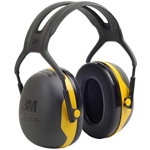3M Peltor X2A Over-the-Head Ear Muffs, Noise Protection, NRR 24 dB, Construction, Manufacturing,...