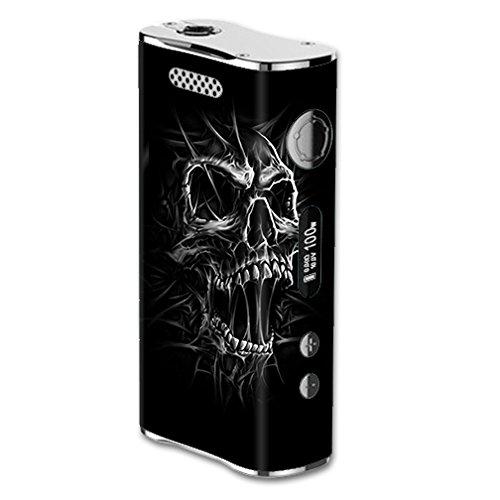 Skin Decal Vinyl Wrap for Eleaf iStick 100W Vape Mod Box / Skull Evil Stretch Slash Screaming