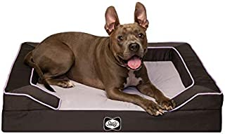 Best jumbo cord plush dog bed large Reviews