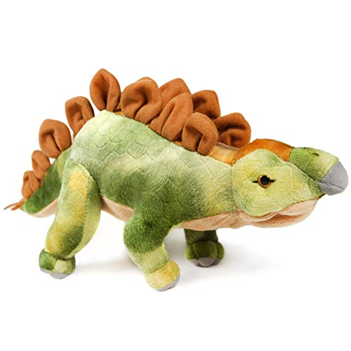 Samson The Stegosaurus   15.5 Inch Stuffed Animal Plush Dinosaur   by Tiger Tale Toys -  VIAHART, 850000897274