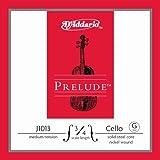 Cuerda individual Sol para violonchelo Prelude de D'Addario, escala 3/4, tensión media.