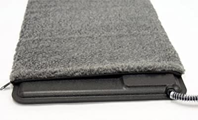 "K&H PET PRODUCTS Extreme Weather Kitty Pad Deluxe Cover Gray 12.5"" x 18.5"" x 0.25"""