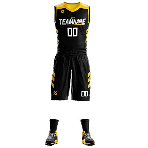 basketball shirts Custom Sportswear Sublimated Print - Basketball Jersey Uniforms Design Basketball Shirts and Shorts for Men/Youth