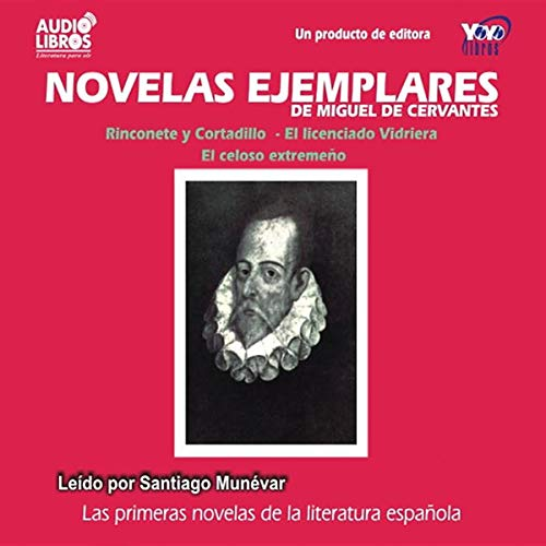Novelas Ejemplares [Exemplary Novels] audiobook cover art
