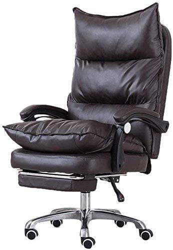 ANXWA Chaise Ergonomique De Bureau avec Repose-Pieds à Dos Haut De Course Ordinateur De Bureau...