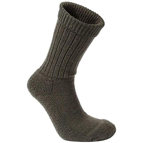 Craghoppers Womens Hiker Sock Chaussettes Femme, Vert Woodland, 3-5