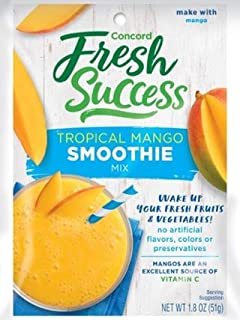 Concord Farms Tropical Mango Smoothie Mix, 1.8-Ounce Packages (Pack of 12)