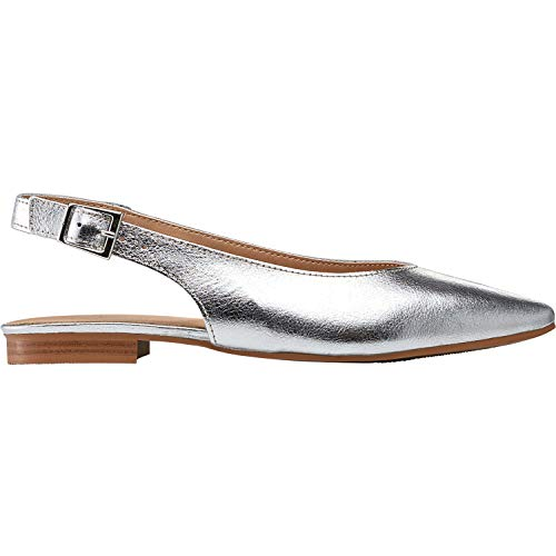 Top 10 best selling list for silver flat slingback shoes