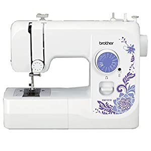 Brother Sewing Machine, XM1010, 10 Built-in Stitches, 4 Included Sewing Feet