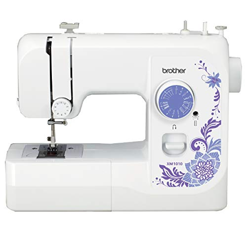 Brother Sewing Machine XM1010 10 Builtin Stitches 4 Included Sewing Feet