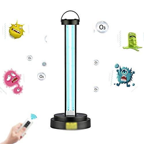 Ultraviolet kiemdodende lamp met afstandsbediening, draagbare ultraviolette ozon desinfectie kiemdodende lamp, gebruikt in slaapkamer, keuken, schoenenkast, toilet, 36W