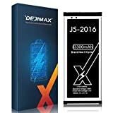 DEJIMAX Alta Capacidad 3300mAh Batería J5 para Samsung Galaxy J5-2016, 3300mAh Lithium Polymer para...