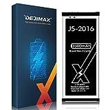 DEJIMAX Alta Capacidad 3300mAh Batería J5 para Samsung Galaxy J5-2016, 3300mAh Lithium Polymer para Galaxy J5-2016/ EB-BJ510CBE/ SM-J510FN