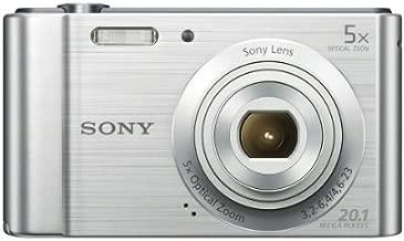 Sony (DSCW800) 20.1 MP Digital Camera (Silver)