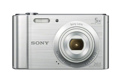 Sony (DSCW800) 20.1 MP Digital Camera (Silver)