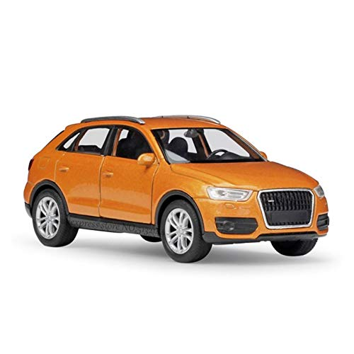 DSWS 1:36 para Audi Q3 Alloy Aley Model Model Mini Cart Model Machine Collection Collection de Regalo de Juguete