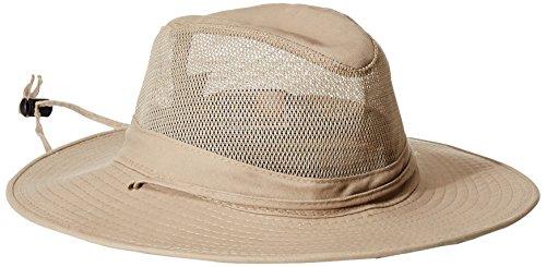 DPC Outdoors Solarweave Treated Cotton Hat, Camel, Large