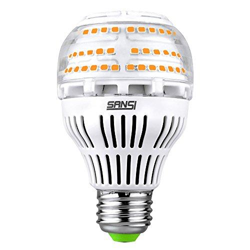 (Upgrade) 17W (150-200 Watt Equivalent) A19 Dimmable Ceramic LED Light Bulb, 2500 Lumens Bright Led Bulbs, 3000K Soft Warm Light, E26 Medium Screw Base, 5-Year Warranty, SANSI