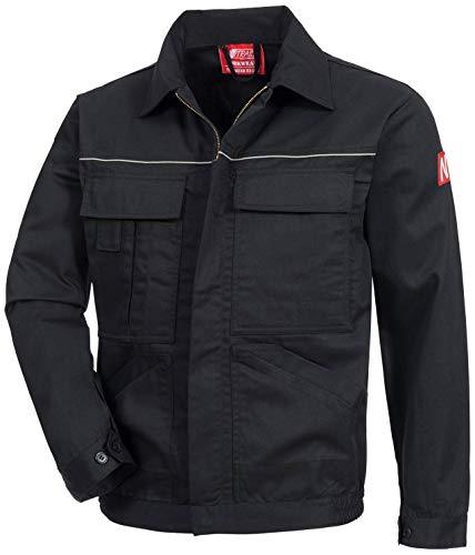 Nitras 7550 Männer-Sicherheitsjacke - Jacke für die Arbeit - Schwarz - 52