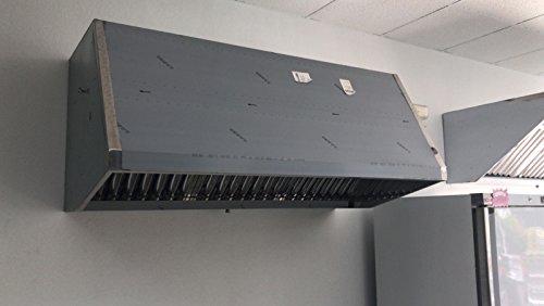 Campana Industrial EXTRACTORA 1200X800X700 MM C/Motor