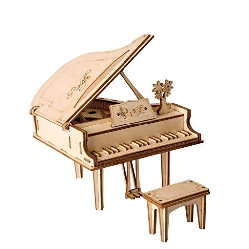 FSR Hölzerne Große Klavier Puzzle Dekoration Dekoration Hochwertige Wohndekoration Geschenk