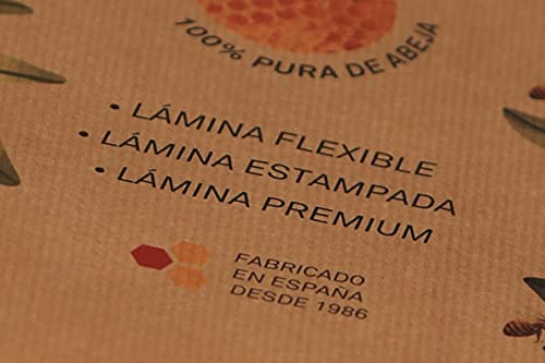 BOOSIT laminas de cera de abeja Española 14 planchas cera para velas 9 x 21