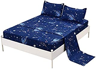 Best space bed sheets glow in the dark Reviews