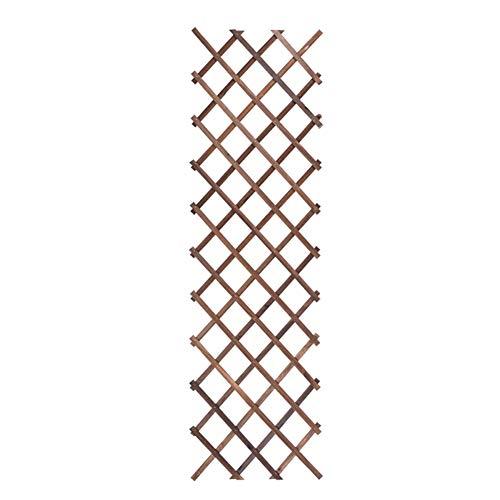 Qfly Bloemenstandaard voor wandmontage van hout, balkon, ophanging, plank voor planten, voor displays, bloemen, frame