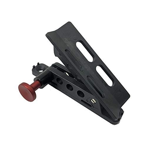 RONGSHU Soporte de Montaje de extintor de automóviles Ajuste Ajustable para Jeep Wrangler Sport/para JK/para Sahara Fire Extinguisher Mount Holder Botella (Color : Red)