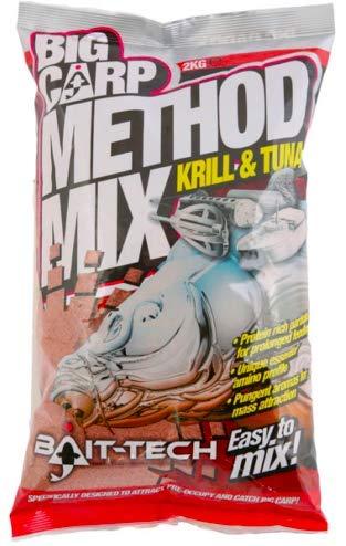 Bait-Tech Groundbait 2kg Big Carp Method Mix Krill & Tuna