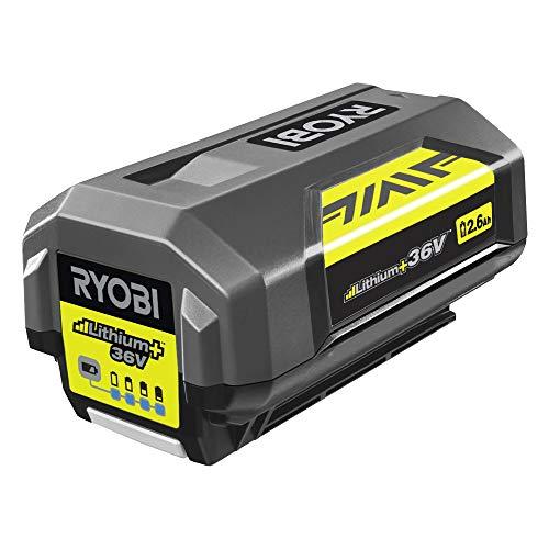 Ryobi Akku Maxpower (36 V / 2,6 Ah, für Ryobi Akku-Geräte, Ladestandsanzeige, Überladungsschutz) BPL3626D2