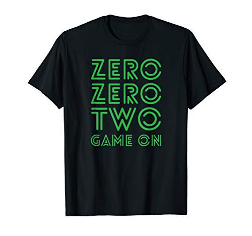 Pickleball Zero Zero Two Game On Green T-Shirt