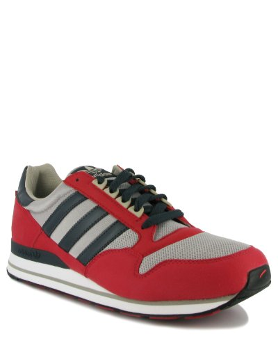 Adidas ZX 500 (rot / grau / schwarz) (42)
