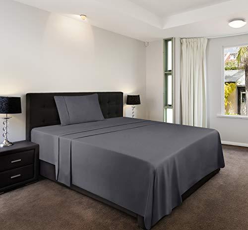 Utopia Bedding 3-Piece Twin Bed Sheet Set (Grey)