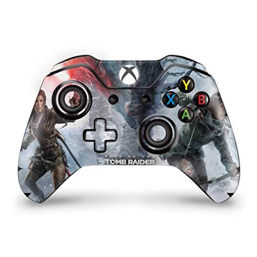 Skin Adesivo para Xbox One Fat Controle - Rise Of The Tomb Raider