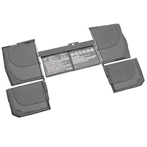 vhbw Li-Poly batteria 5200mAh (7.6V) per laptop notebook Apple Macbook 12 inch Retina A1534 (Mid 2017), 12 inch Retina A1534(EMC 2746)