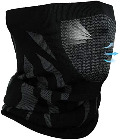Achiou Winter Neck Gaiter Warmer Face Mask Cover For Men Women Soft Comfortable for Running product image