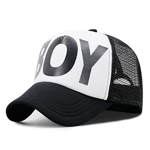 Sombreros de Sol de Verano para Adultos para Hombres, Gorra de camión Cool Hiphop Rock, Gorras de béisbol de Malla a la Moda para Mujeres-A52