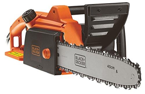 BLACK+DECKER CS1840-QS Elettrosega a Filo 1800 W, Barra 40 cm