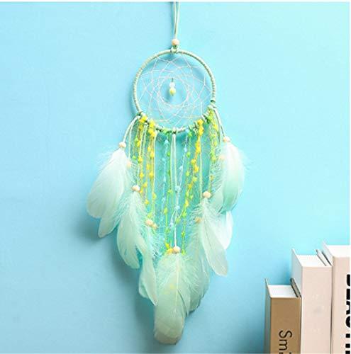 WEIHONG DIY Accessoire Creative Girl Birthday mur Chambre bébé cadeau décoration lumières LED Dream Catcher, Spécification: Lighted WEIHONG